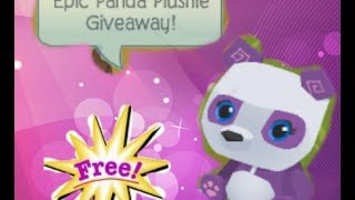getlinkyoutube.com-Animal Jam! Epic Panda Plushie Giveaway (CLOSED)