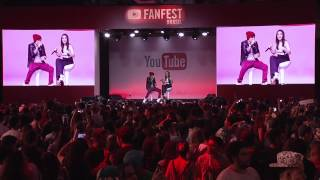 getlinkyoutube.com-Gusta Stockler e Kefera @ YouTube FanFest Brasil 2015