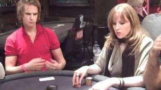 getlinkyoutube.com-Viktor Blom aka Isildur1 bluffs a bluffer on Day 1 of WSOPE 2010