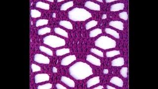 getlinkyoutube.com-Muestras Calados 3 Tejidos a Crochet