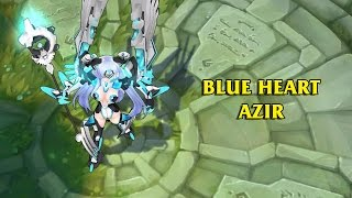 getlinkyoutube.com-Rei The Blue Heart Azir LoL Custom Skin ShowCase