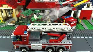 getlinkyoutube.com-LEGO CITY FIRE STATION 60004