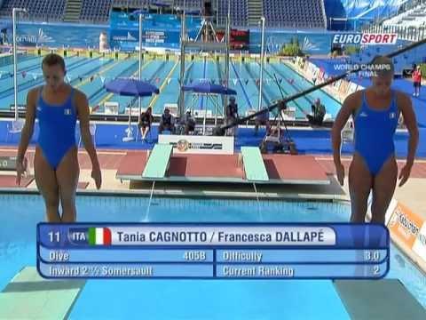 Tania Cagnotto & Francesca Dallape 03A Roma 2009