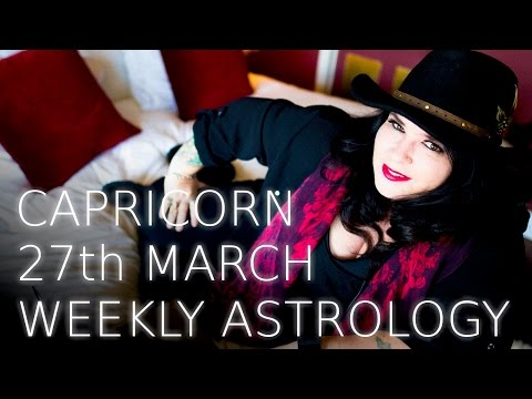 Capricorn Weekly Astrology Forecast 27th March 2017