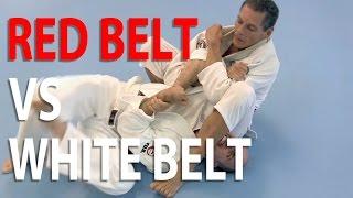 White belt challenges Grandmaster Relson Gracie