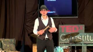 getlinkyoutube.com-Taming the beast - jazz drumming: Greg Wyser-Pratte at TEDxConstitutionDrive