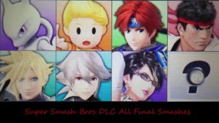 getlinkyoutube.com-Super Smash Bros 4 3DS Version All DLC Characters Final Smashes