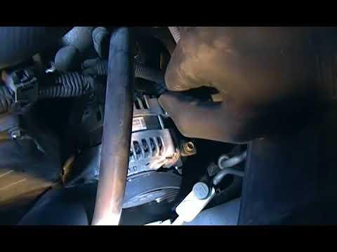 Lexus ES330 Alternator Replacement