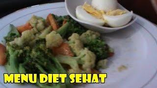 getlinkyoutube.com-Cara Menurunkan Berat Badan Secara Alami - Makanan Untuk DIET Tumis BROKOLI Menu Diet Sehat