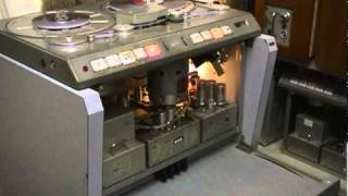 Studer C37 valve tape machine