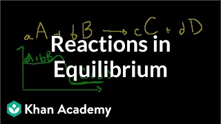 Reactions in equilibrium | Chemical equilibrium | Chemistry | Khan Academy