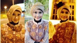 getlinkyoutube.com-Tutorial Hijab Modern Paris   Tutorial Hijab Pesta dan Wisuda by Didowardah - Part #24