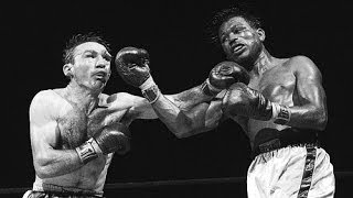 Sugar Ray Robinson vs  Carmen Basilio I & II (Highlights)
