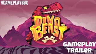 getlinkyoutube.com-Dino the Beast: Dinosaur Game (By NETIGEN Games) iOS / Android Gameplay Video