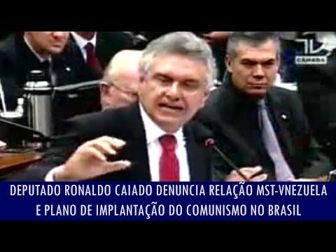 Deputado denuncia relação do MST-Venezuela e plano de implantação do comunismo no Brasil