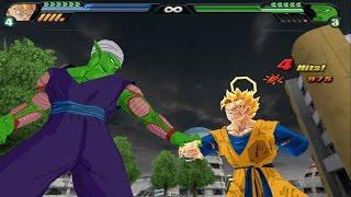 getlinkyoutube.com-Future Gohan (V2) VS Piccolo (Dragon Ball Z Budokai Tenkaichi 3 Mod)