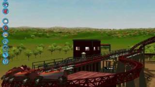 getlinkyoutube.com-Alton Towers' Rollercoasters - RCT3 Style