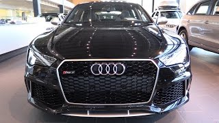 getlinkyoutube.com-2016 Audi RS7 - Walkaround - Captured in 1080p60 with Canon XC10 CameraRS7