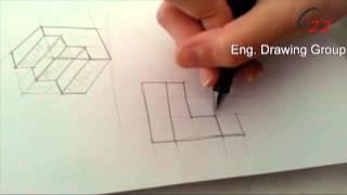 الرسم الهندسي - حلقة 9