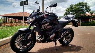 getlinkyoutube.com-Fx3 Kawasaki Z800 - Detalhes da moto, modelo 2016.