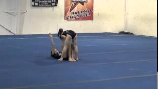 getlinkyoutube.com-Acro Gymnastics Level 4 2013