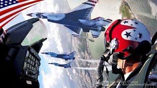 getlinkyoutube.com-近っ!コックピット映像ほかF-16戦闘機の凄すぎるアクロバット飛行・米空軍サンダーバーズ