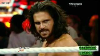 getlinkyoutube.com-The Miz vs. John Morrison - Falls Count Anywhere Match for WWE Championship (1/3/11 WWE RAW )