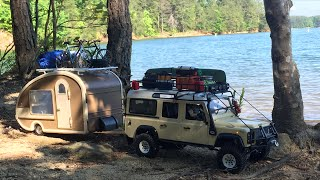 getlinkyoutube.com-***Scale RC Land Rover Defender 110 w/ Camper***Tybo's RC Motorsports** Pure RC 4x4
