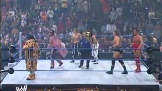 getlinkyoutube.com-Armageddon 2006 - Paul London & Brian Kendrick VS William Regal & Dave Taylor VS Hardyz VS MNM  #1