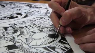 getlinkyoutube.com-THE PROCESS: Inking Old-School