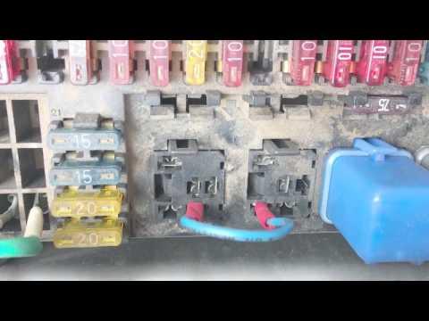 Isuzu Trooper Fuel Pump Circuit
