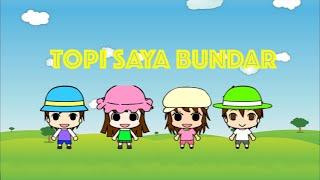 Topi Saya Bundar - Lagu Anak-Anak Indonesia Karaoke
