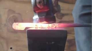 getlinkyoutube.com-How to forge tongs
