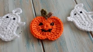 getlinkyoutube.com-How to Crochet a Pumpkin for Bunting