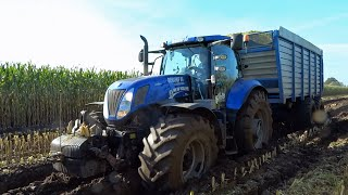 New Holland Blue Power T7070 | T7.210 | T7.270 | Fragments | Great Sound!!