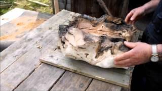 getlinkyoutube.com-natural wood bowl carving