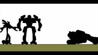 getlinkyoutube.com-Pivot Transformers 2 Optimus Prime / Jetfire Link-Up