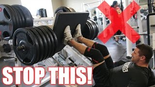 How to PROPERLY Leg Press | 3 Leg Press Variations for Muscle Gain