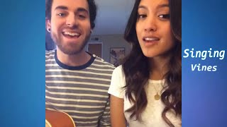 getlinkyoutube.com-Us The Duo Vine compilation - Best Singing Vines w/ Song Names