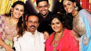 getlinkyoutube.com-Actress Radha 25th Wedding Anniversary Photos | Radha Rajasekaran Nair