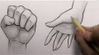 getlinkyoutube.com-How to Draw Hands, 2 Different Ways [HTD Video #3]