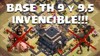 getlinkyoutube.com-Como Hacer un Diseño Invencible Anti 3 Estrellas TH9 y 9.5!