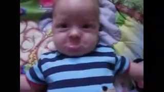 getlinkyoutube.com-Lucunya ekspresi  bayi ketakutan