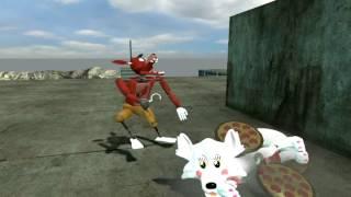 getlinkyoutube.com-Foxy beats up (pre)Mangle for no reason