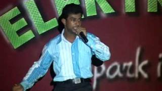 getlinkyoutube.com-Superb Mimicry performance by Hemanth -30 different voices!!