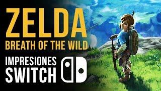 ZELDA: Breath of the Wild - ¡Lo hemos probado en Nintendo Switch!