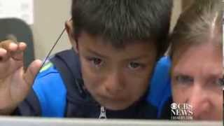 flushyoutube.com-When You See This 7 Year-Old Hear His Mommy for the First Time, You'll Cry!
