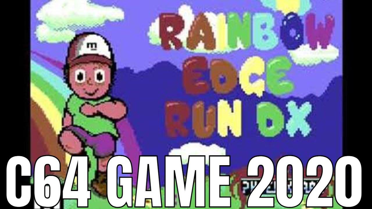 Rainbow Edge Run DX C64 2020