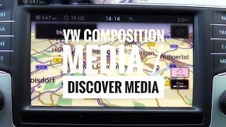 getlinkyoutube.com-VW Discover Media Navigation und Infotainment System aus dem Passat B8/Golf 7 (Test)