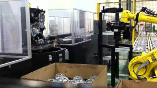 getlinkyoutube.com-Mazak Palletech Robot load.MOV